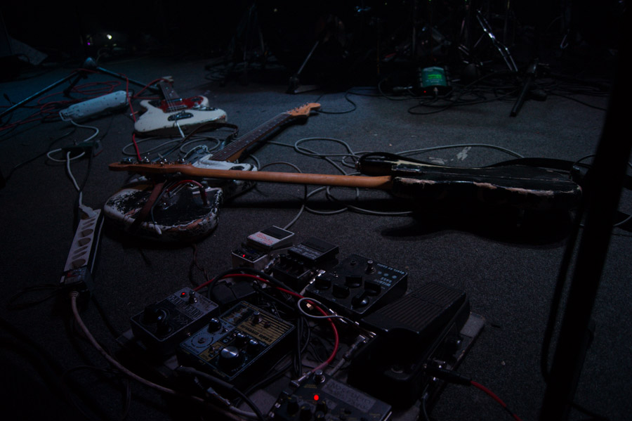 A Place to Bury Strangers live at Mylos, Thessaloniki, Greece in 2012
