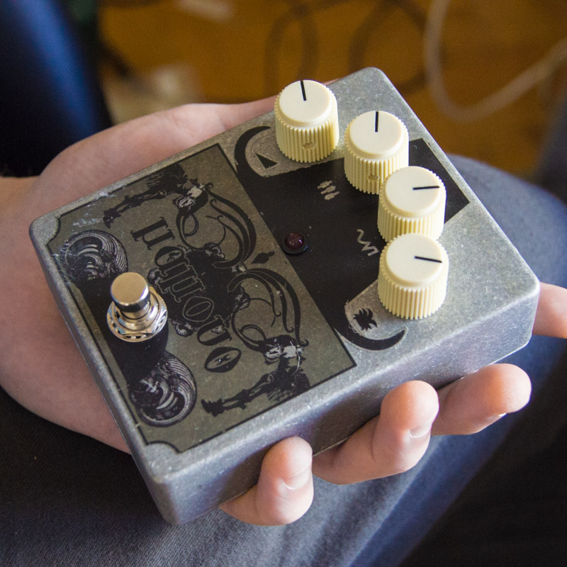 Woolly Mammoth clone FX Pedal Design