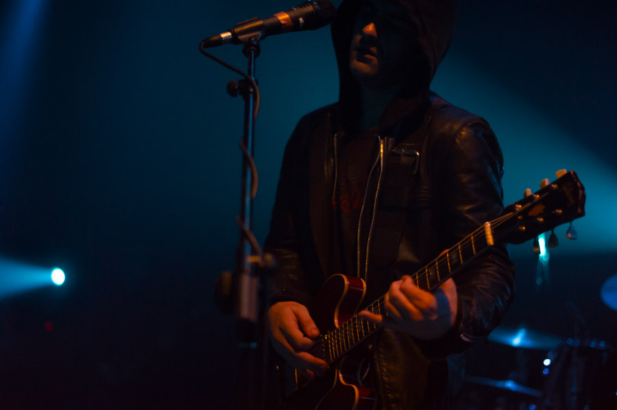 Black Rebel Motorcycle Club live at Principal Club, Thessaloniki, Greece,  March 2014. Live music event photography by Ilias Antoniou.