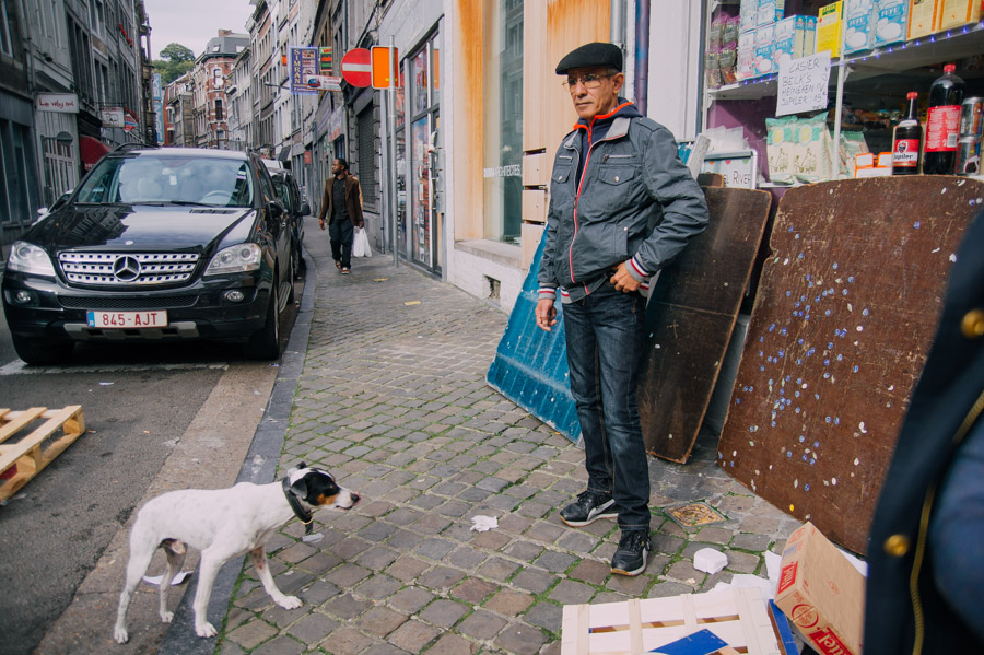 Street Photography by Ilias Antoniou, shot in Liege, Belgium, 2014