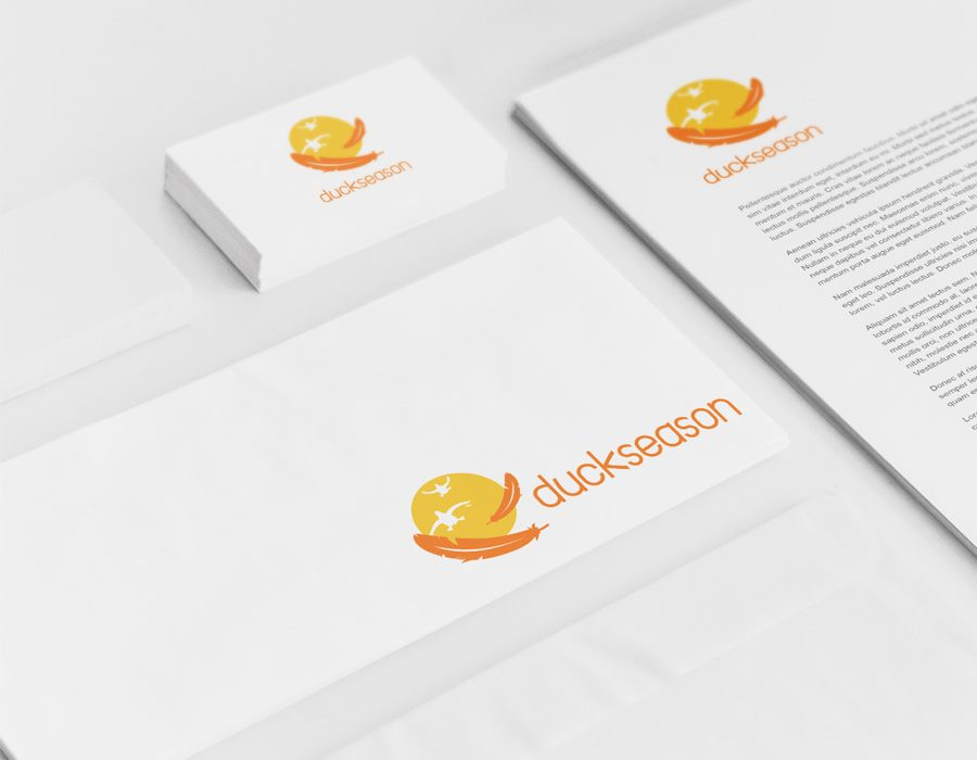 Logo for software development company Duckseason