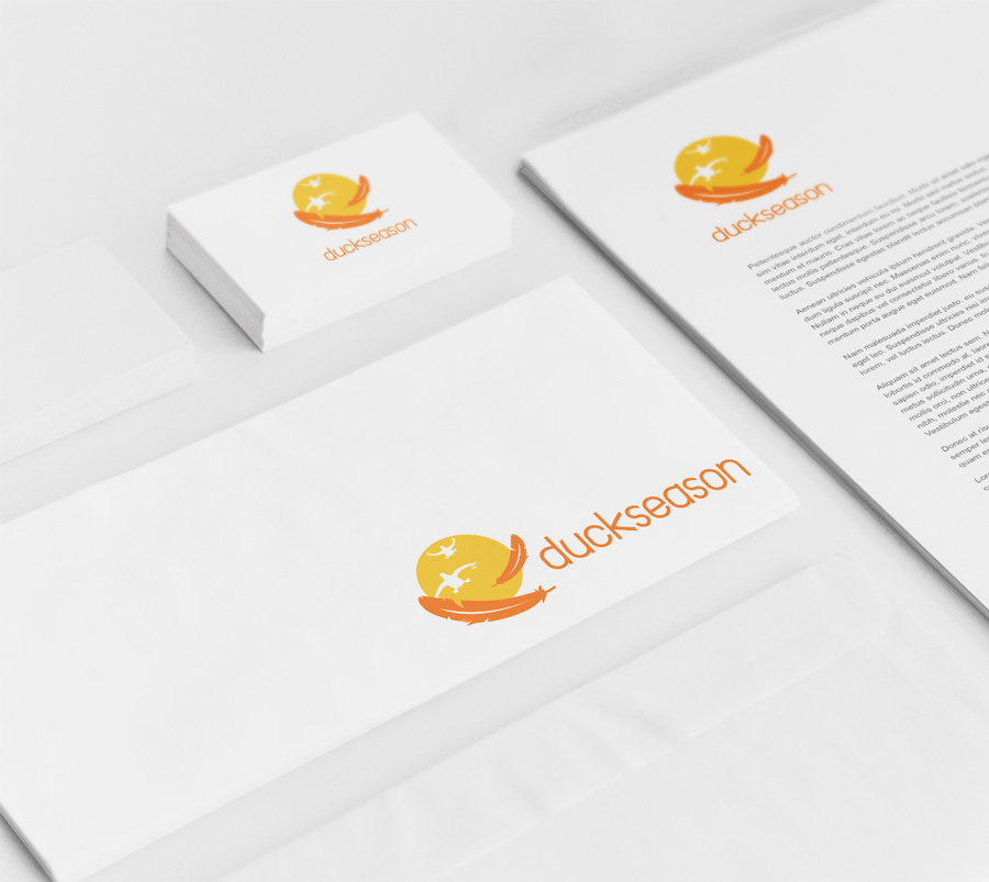Logo design for software and game development company Duckseason